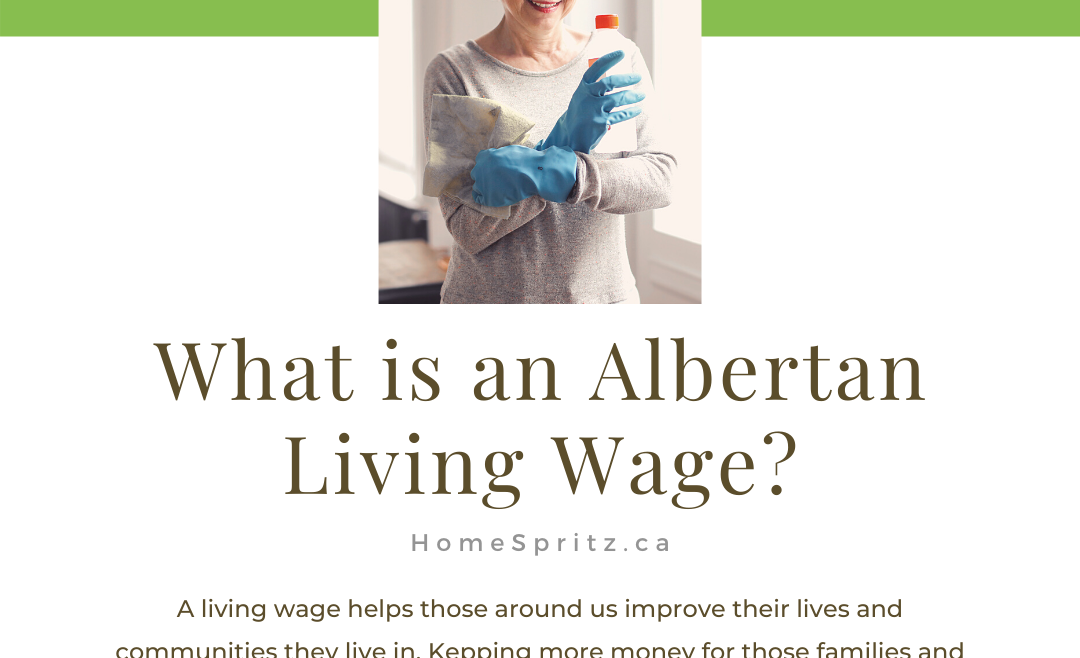 What Does a Canadian Living Wage in House Cleaning Mean?
